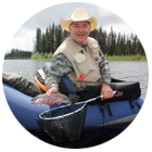 flyfishing for rainbow trout in BC