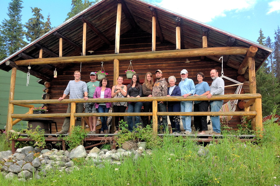 groups are welcome at the rustic resort, thuya lakes, bc